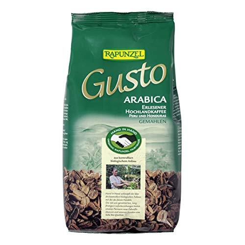 Rapunzel - Gusto Arabica gemahlen HIH - 0,5 kg - 6er Pack