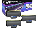 Speedy Inks Compatible Toner Cartridge Replacement for Brother TN360 (Black, 3-Pack)