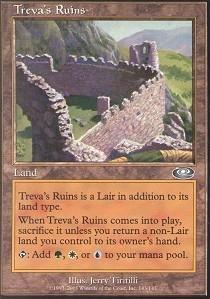 Magic: the Gathering - Treva's Ruins - Planeshift - Foil