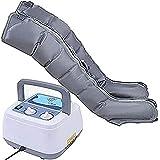 Dispositivo de masaje de piernas de compresión de aire para patas y máquina de masaje de compresión de aire para becerro y masaje de circulación de pie con 6 cojines de aire