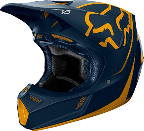 FOX Racing V-3 Helmet Hommes, Jaune, S