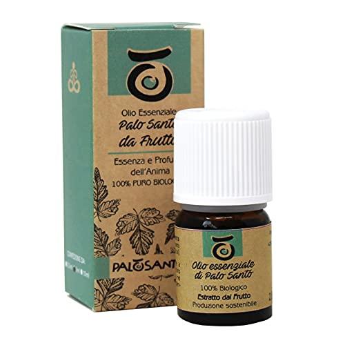 Aceite de Palo Santo - Extraído de la Fruta del Árbol de Bursera Graveolens - Aceite 100% Natural...