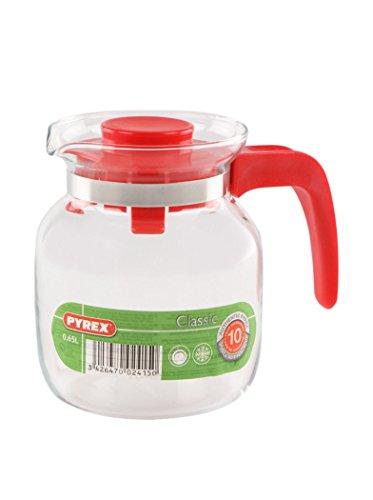 Pyrex Bricco multiuso Rosso, Vetro, 0.65 Litri