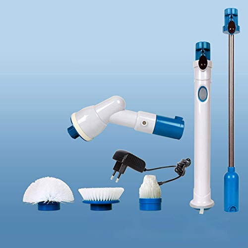 Cleaning Brush Electric Power Bathroom Scrubbing Brush,Cordless Power Scrubber Brush Set Electric Cleaning Brush Drill Brushes Attachment Kit Multifun