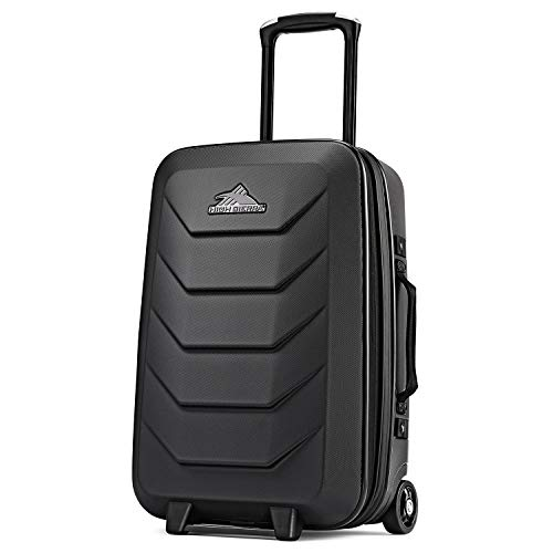 High Sierra OTC 22-Inch Expandable Carry-On Upright Hardsided Suitcase Luggage with Wheels Small 22-inches