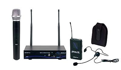 VOCOPRO DIGITAL ULTRA All Inclusive Single Channel Digital Wireless Handheld/Headset/Instrument System
