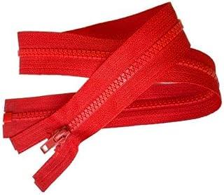 DioLm 10pcs 3# 15cm 28cm 35cm 40cm 45cm 50cm 55cm 60cm Zippers Invisible en Nylon Bobine Fermeture /à glissi/ère pour Coudre Tissu Artesanat Accessorie,Beige,Longueur Totale est de 15 cm