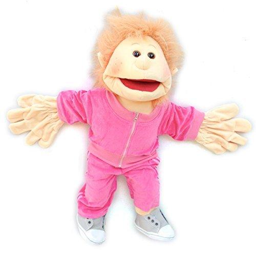 Living Puppets W2014-2 Mädchen mit pinkem Jogginganzug SONDERMODELL by Living Puppets