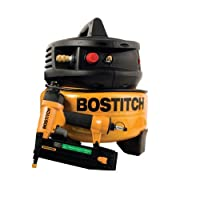 Factory-Reconditioned BOSTITCH U/CPACK1850BN 18-Gauge Brad Nailer and Compressor Combo Kit by BOSTITCH