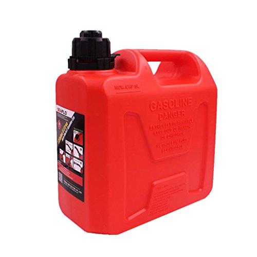H HILABEE Seaflo 5L Tragbar Weithalskanister/Abklärkanister/Benzinkanister/Mehrzweckkanister für Kompressorenöl Spindelöl Traktorenöl usw
