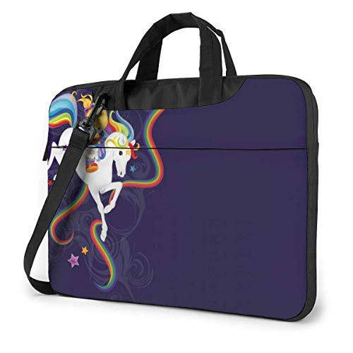 Rainbow Brite and Starlite Memories Laptop Sleeve Case Computer Tote Bag Shoulder Messenger Briefcase