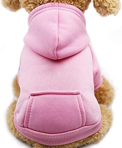 Jecikelon Winter Dog Hoodie Sweatshirts