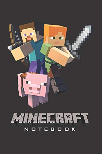 "Minecraft Notebook: Player's Notebook, Sketchbook, Diary, Journal, For Kids, For A Gift, To School  | 120 College Ruled Blank Pages | 6"" x 9"" ... – Trio) (Minecraft College ruled, Band 2)"
