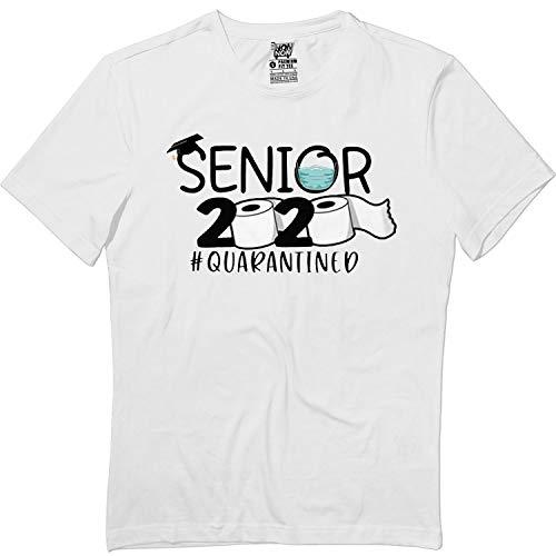 Virus Senior 2020 Quarantined Toilet Paper Corona PN3 T-Shirt White