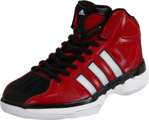 adidas Women's Pro Model Zero W Basketball Shoe,University Red/Running White/Black,13 M US