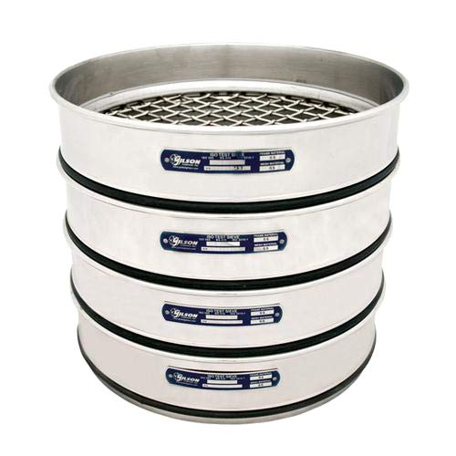 Gilson V300SH 7.1M Stainless Steel ISO Sieve mm Round 7.1 40% OFF Cheap Award Sale Test