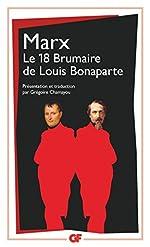 Le dix-huit brumaire de Louis Bonaparte de Karl Marx