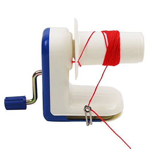 Yunt Ball Winder, Home Manual Hand Operated Metal Yarn Fiber Wool String Ball Winder Winding Twining Machine