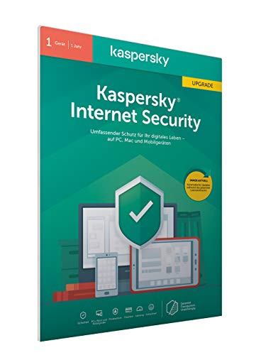 Kaspersky Internet Security Upgrade (Code in a Box) (FFP). Für Windows 7/8/10/MAC/Android