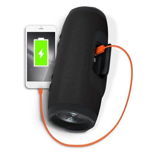 JBL Charge 3 Waterproof Portable Bluetooth Speaker (Black), 1 Florida