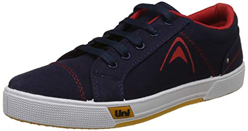 Unistar Men's Blue Sneakers-9 UK/India (43 EU) (E-5003)