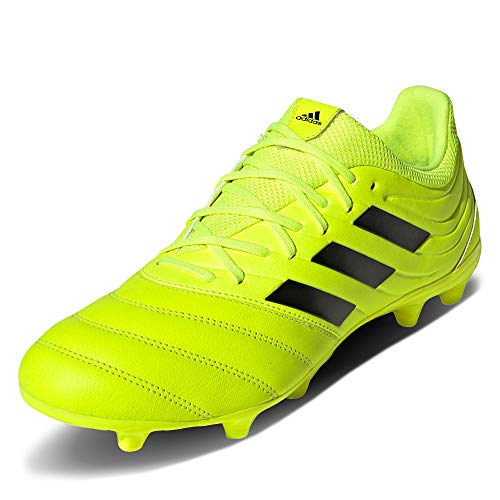 adidas Herren COPA 19.3 FG Fußballschuhe, Mehrfarbig (Solar Yellow/Core Black/Solar Yellow F35495), 44 2/3 EU
