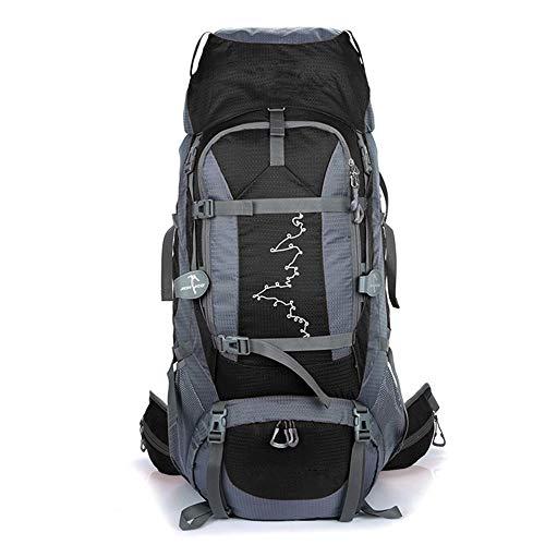 Bolsa de alpinismo impermeable de nylon de montañismo al aire libre de gran capacidad