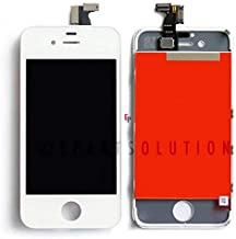 ePartSolution_LCD Display Touch Screen Digitizer Assembly for iPhone 4   iPhone 4 CDMA   iPhone 4S Replacement Part USA Seller (iPhone 4 CDMA White)