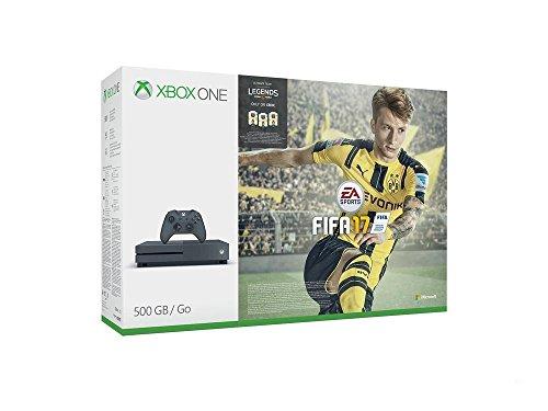 Xbox One -Pack Consola S 500 GB + FIFA 17 - Edición Exclusiva Amazon