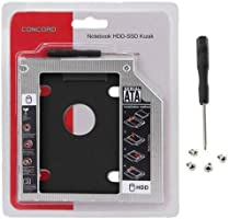 12.7mm HDD Caddy Kızak Laptop DVD To SSD Kutu Sata 4717p
