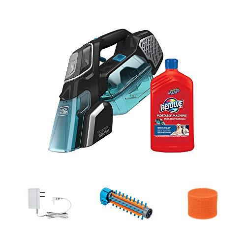 BLACK+DECKER spillbuster Cordless Spill + Spot Cleaner with Resolve Carpet Spot-Stain Formula, 24oz (BHSB320JP)