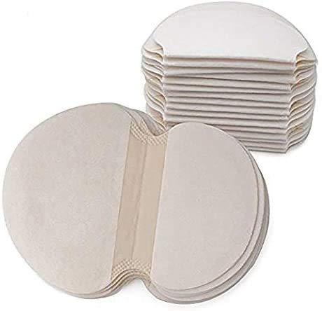 StillCool Axilas Antitranspirante Pads, 50 Pcs Axila absorción de Sudor Almohadilla, cómodas, Desechables de absorción de Sudor Almohadillas de Verano, no visibles, Eliminar Olor