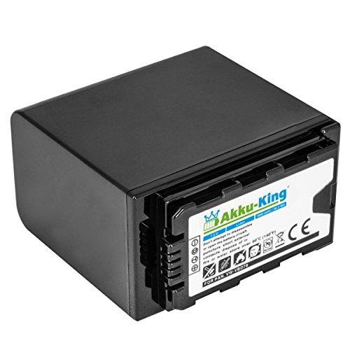 Akku kompatibel mit Panasonic AJ-PX270, AG-AC8EJ, AG-AC30, AG-AC8, AG-AC8EJ, AG-CX350, AG-DVC30 - ersetzt VW-VBD58, VW-VBD58E-K, AG-VBR59 - Li-Ion 7800mAh