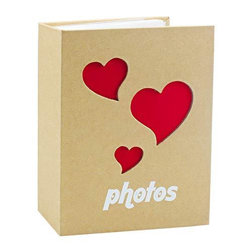 Album Foto, 50 Pagine, 100 Foto, Album Fotografico Bimbo, 4 X 6 inch