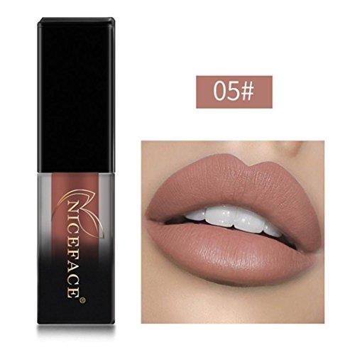 Huihong NICEFACE 18 Schattierungen matte Lippen Dessous flüssige Lippenstift, langlebig und...