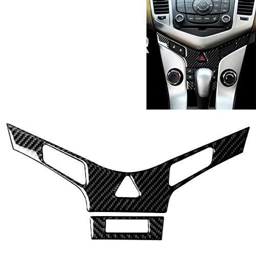 Auto Folie Carbon Fiber Aufkleber Film, Auto-Carbon-Faser-Klimaanlage Platte Dekor-Aufkleber for Chevrolet Cruze 2009-2015, linken und rechten Antriebs Universal, Für Auto/Motorrad/Fahrrad-für Inn