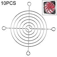 ラップトップクーラー 10 PCSコンピュータファンシャーシ防塵ネットケースカバー