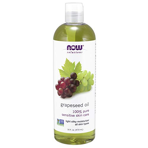 NOW Solutions, Grapeseed Oil, Skin Care for Sensitive Skin, Light Silky Moisturizer for All...