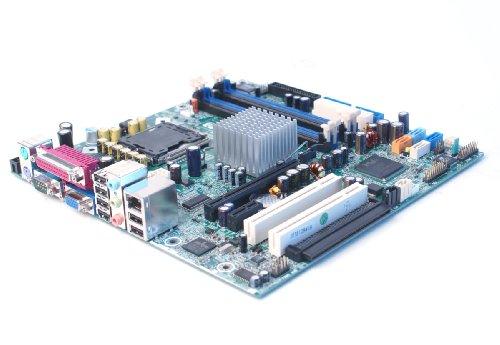 Genuine HP/Compaq 365865-001 Motherboard Logic Board for Compaq DC7100 Systems Intel 915G Express DDR1 P4 Pentium 4 Socket LGA775 HP/Compaq Part Numbers: 365865-001, 350929-001, 350930-000