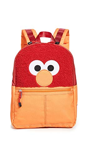 STATE Women's Isaac Mizrahi Loves Sesame Street x STATE Elmo Bag, Red, One Size