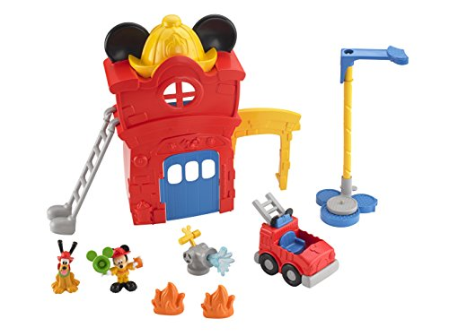 Fisher Price - Y4625 - Figurine - Caserne de Pompiers - Mickey