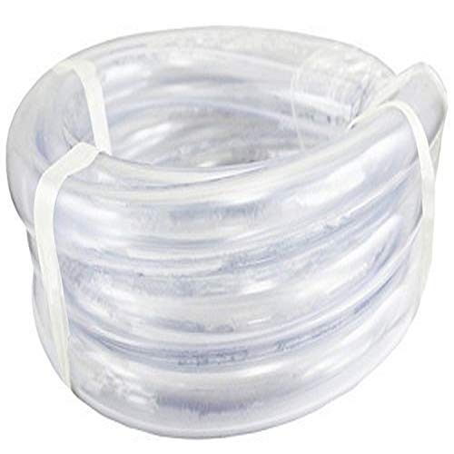 "Duda Energy LPpvc200-005ft 5' x 2"" ID Low Pressure Clear Flexible PVC Tubing Heavy Duty UV Chemical Resistant Vinyl Hose Water Oil"