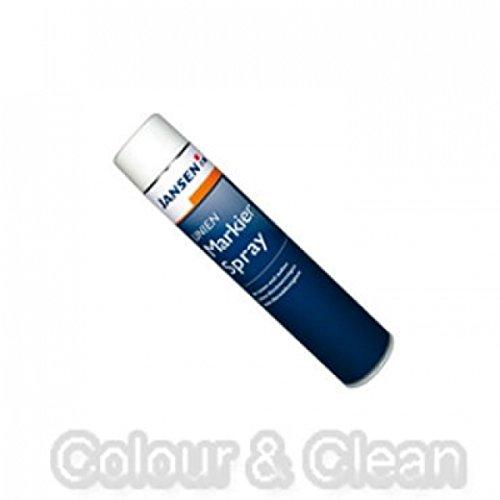 JANSEN Linien Markier-Spray 750ml weiß Straßen-Markierungsfarbe Markierspray