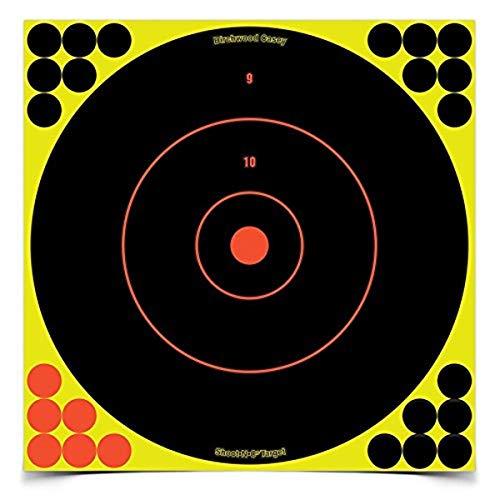 BIRCHWOOD CASEY Shoot-n-c Rond Cible (Lot de 5 Feuilles)