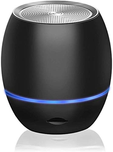 Mini altavoz portátil al aire libre, inalámbrico Bluetooth inteligente Ai super canal de audio-Negro