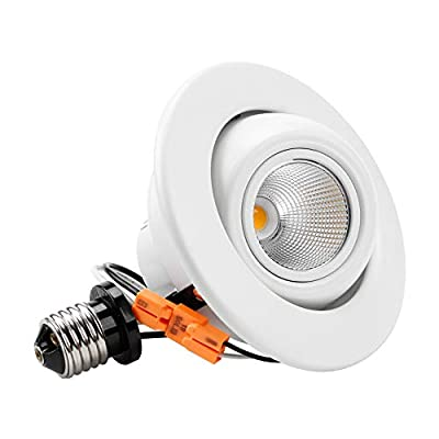 TORCHSTAR High CRI90+ 4 inch Dimmable Gimbal Recessed LED Downlight