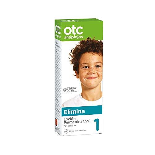 Otc 1303216 Antipiojos Loción Permetrina 1.5% Tratamiento para Eliminar Piojos y Liendres - 125 ml