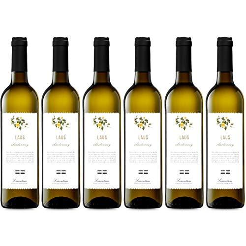 Laus Blanco Vino Blanco - 6 Botellas - 4500 ml