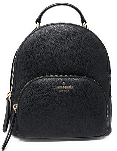 Kate Spade New York Jackson Medium Backpack Pebbled Leather Black