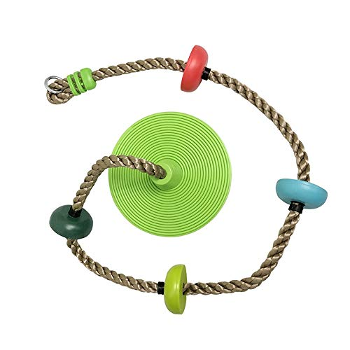 SXZHSM Multi-purpose Children's Swing (stand-up Climbing): Disc Tree Swing Seat And Suspension Kit With Tree Straps Outdoor Swing Kit Accessories Rope Swing Adjustable Rope-100kg Load-bearing